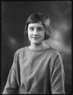 Katharine Constance Nicholson (née Lindsay), by Bassano Ltd - NPG x123046