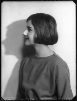 Katharine Constance Nicholson (née Lindsay), by Bassano Ltd - NPG x123048