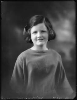 Barbara Hurst (née Lindsay), by Bassano Ltd - NPG x123049
