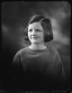 Barbara Hurst (née Lindsay), by Bassano Ltd - NPG x123050
