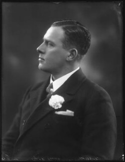 Sir (Thomas Antonio) Reginald Terrell, by Bassano Ltd, 18 November 1924 - NPG x123055 - © National Portrait Gallery, London