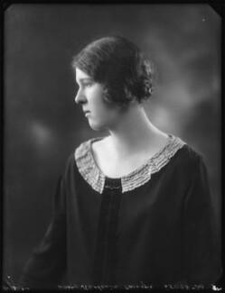 Lady Katharine Jane Elizabeth Armitage, by Bassano Ltd, 11 December 1924 - NPG x123087 - © National Portrait Gallery, London