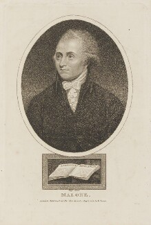 Edmond Malone, by R. Page, published by  G. Jones - NPG D15283