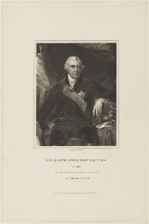 Sir Joseph Banks, Bt, by John Henry Robinson, published by  Harding & Lepard, after  Sir Thomas Lawrence - NPG D15286