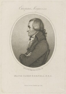 James Rennell, by William Ridley, published by  John Sewell, after  Scott - NPG D15287