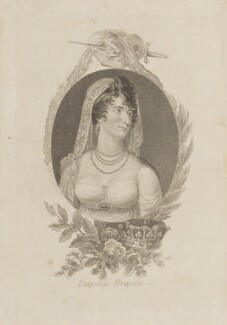Louisa (née Brunton), Countess of Craven, by Mackenzie - NPG D15290