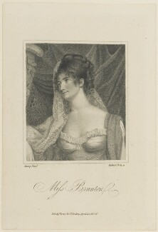 Louisa (née Brunton), Countess of Craven, by Ridley & Holl, published by  Vernor & Co, after  Samuel John Stump - NPG D15291