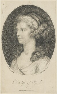 Frederica Charlotte Ulrica Catherina, Duchess of York and Albany, by William Bromley, published by  John Sewell, after  Edward Francis Cunningham (Calze) - NPG D15297