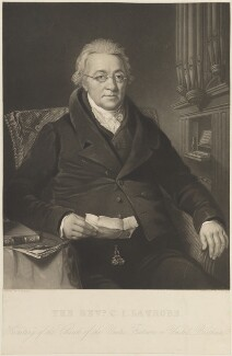 Christian Ignatius Latrobe, by Samuel Bellin, after  Thomas Barber - NPG D15298