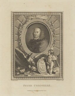 Pierre Corneille, by William Walker, published by  George Kearsley, after  Charles Le Brun - NPG D15299