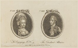 'The Engaging Mrs F-y and The Constant Admirer' (George Walpole, 3rd Earl of Orford), published by Archibald Hamilton Jr - NPG D15305