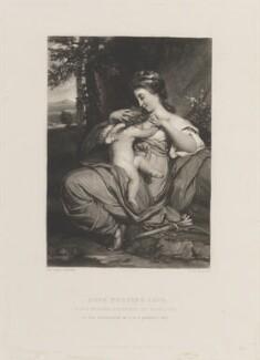 Miss Morris ('Hope Nursing Love'), by Samuel William Reynolds, published by  Hodgson & Graves, after  Sir Joshua Reynolds - NPG D15315
