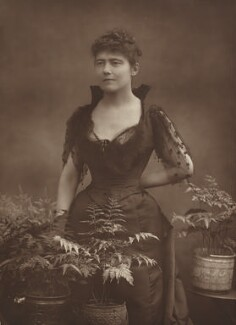 Louise Jane Jopling (née Goode, later Rowe), by Herbert Rose Barraud, 1890 or before - NPG Ax8712 - © National Portrait Gallery, London