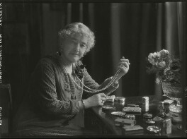 Louise Jane Jopling (née Goode, later Rowe), by Lafayette (Lafayette Ltd), 6 November 1928 - NPG x42979 - © National Portrait Gallery, London