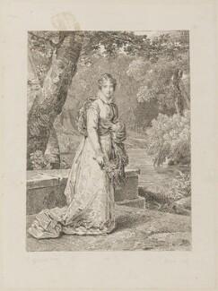 Adelaide, Princess d'Orleans, by P. Adam, after  S. Gerard - NPG D15318