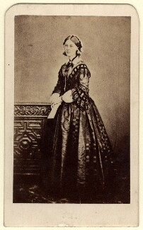 Florence Nightingale, by William Edward Kilburn, published by  London Stereoscopic & Photographic Company - NPG x16137