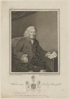 William Murray, 1st Earl of Mansfield, by John Jones, after  William Grimaldi - NPG D15338