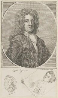Louis Laguerre; Charles Jervas; Bernard Lens (II), by Alexander Bannerman - NPG D15341