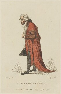 John Boydell, by (Benedictus) Antonio van Assen, published by and after  J. Parry - NPG D15345