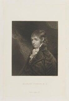 Richard Porson, by Henry Adlard, published by  Longman & Co, after  John Hoppner - NPG D15348