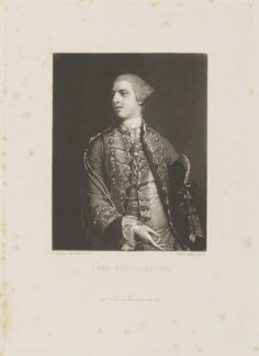 Charles Fitzroy, 1st Baron Southampton, by and published by Samuel William Reynolds, after  Sir Joshua Reynolds - NPG D15352