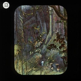 Scene in an Equatorial Forest (David Livingstone), by Unknown artist, published by  The London Missionary Society - NPG D18386