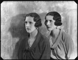 Princess Irene, Duchess of Aosta; Helen, Queen Mother of Romania, by Bassano Ltd - NPG x123177