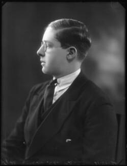 Hon. John Julian Chetwynd, by Bassano Ltd - NPG x123148