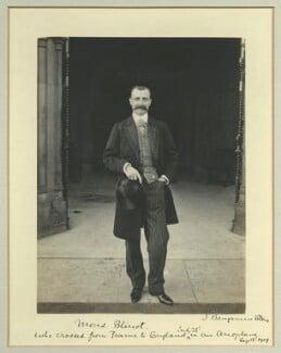 Louis Charles Joseph Blériot, by Benjamin Stone - NPG x32765