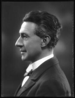 Sir James Colquhoun Irvine, by Bassano Ltd - NPG x123158
