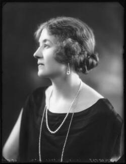 Hon. Venetia Marjorie Mabel Baring, by Bassano Ltd - NPG x123168