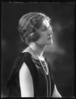 Hon. Venetia Marjorie Mabel Baring, by Bassano Ltd - NPG x123170
