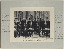 Luncheon party to French and English Aviators, by Benjamin Stone - NPG x126225