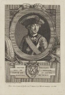 Victor François de Broglie, 2nd duc de Broglie, by Pierre Adrien Le Beau, published by  Esnauts et Rapilly - NPG D15360