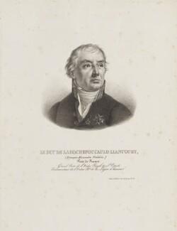 François Alexandre Frédéric, duc de La Rochefoucauld-Liancourt, by François Le Villain - NPG D15365
