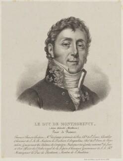 Mathieu Jean Félicité, duc de Montmorency, by François Le Villain - NPG D15368