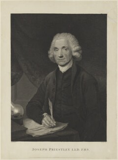 Joseph Priestley, by and published by Thomas Holloway, published by  Robert Wilkinson, published by  Darling & Thompson, after  William Artaud - NPG D15373