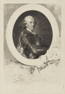 Karl Wilhelm Ferdinand, Duke of Brunswick-Wolfenbüttel, by Anton Graff, after  Johann Salomon Wahl - NPG D15375