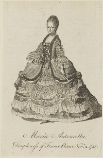 Marie Antoinette of France, by Unknown artist - NPG D15379