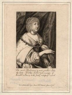 Aletheia Talbot, Countess of Arundel, after Sir Anthony van Dyck - NPG D18371