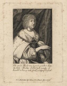 Aletheia Talbot, Countess of Arundel, after Sir Anthony van Dyck - NPG D18372