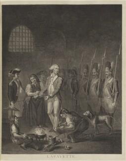 Marie Joseph Paul Yves Roch Gilbert du Motier, Marquis de Lafayette, by Unknown artist - NPG D15394