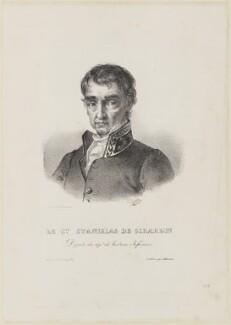 Cécile Stanislas Xavier Louis, comte de Girardin, by Ducarme, published by  Blaisot - NPG D15400