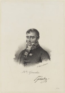 Cécile Stanislas Xavier Louis, comte de Girardin, by and published by François Séraphin Delpech - NPG D15401