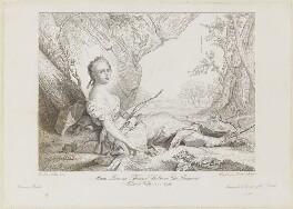 Marie Adélaïde (Madame Adélaïde), by Francesco Antonio Biondi, after  Ange Louis Janet, after  Jean Marc Nattier - NPG D15409