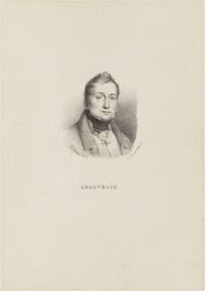 Bernard François Chauvelin, Marquis de Chauvelin, by and published by François Séraphin Delpech - NPG D15412