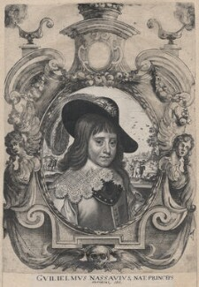 William II of Orange-Nassau, after Gerrit van Honthorst - NPG D18422