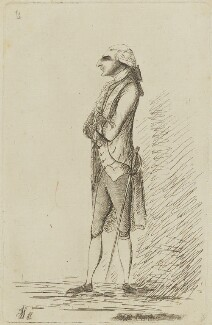Augustus Henry FitzRoy, 3rd Duke of Grafton, by James Sayers, published by  Charles Bretherton - NPG D15423