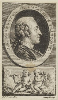 Jean François Marmontel, by Dupin the Younger, after  Charles Nicolas Cochin - NPG D15426
