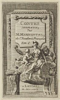 'Contes Moraux, par M. Marmontel, de l'Academie François Tom. 1', probably after Hubert-François Gravelot (né Bourguignon) - NPG D15431